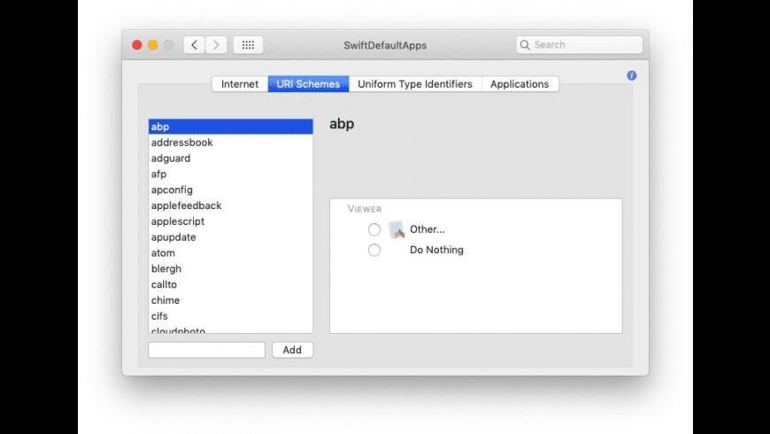 SwiftDefaultApps for Mac - review, screenshots