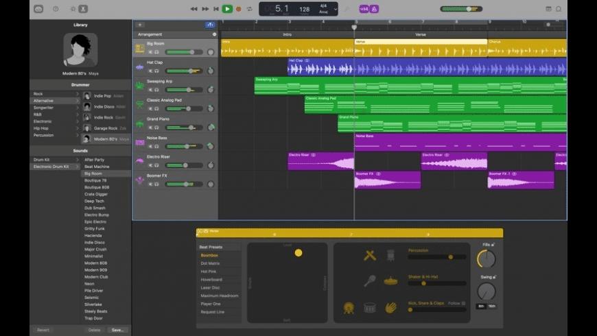 GarageBand for Mac - review, screenshots