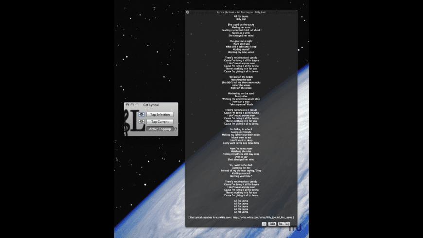 Get Lyrical for Mac - review, screenshots