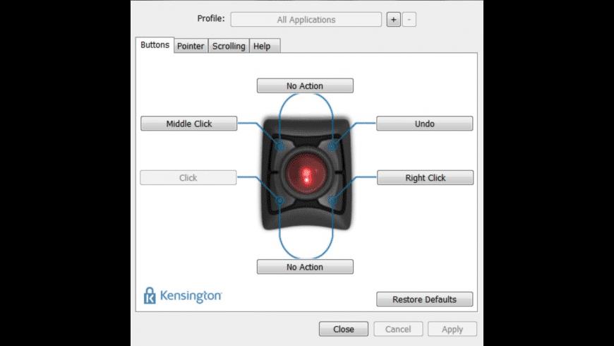 Kensington TrackballWorks for Mac - review, screenshots