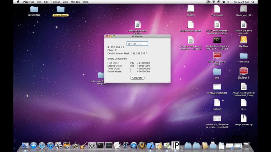 IP Warrior for Mac - review, screenshots