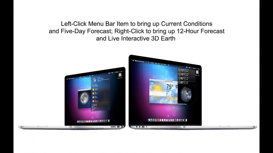 Weather Dock Express for Mac - review, screenshots