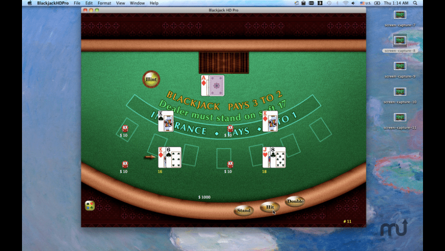Blackjack HD Pro for Mac - review, screenshots