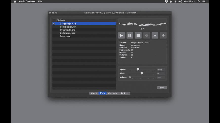 Audio Overload for Mac - review, screenshots