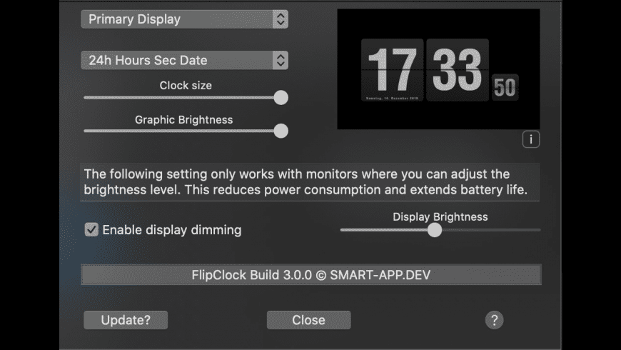 FlipClock for Mac - review, screenshots