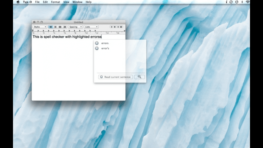 Typ-O for Mac - review, screenshots