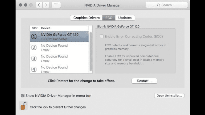 Quadro & GeForce OS X Drivers for Mac - review, screenshots