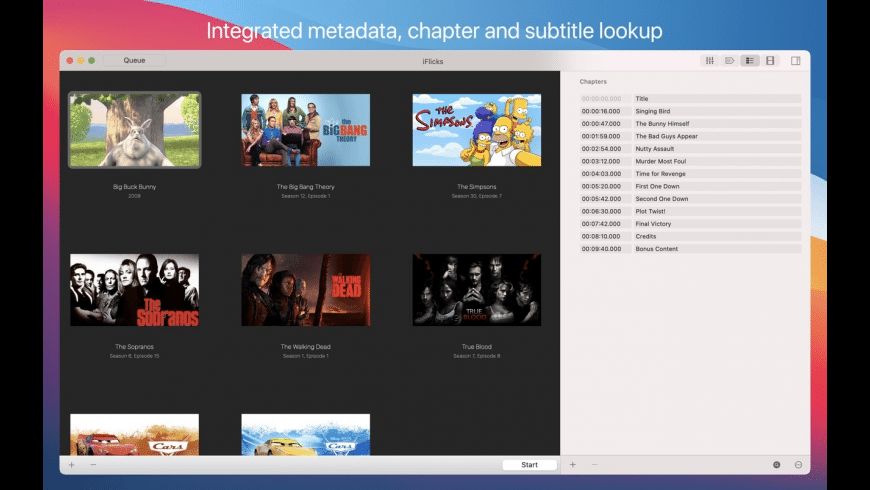 iFlicks for Mac - review, screenshots
