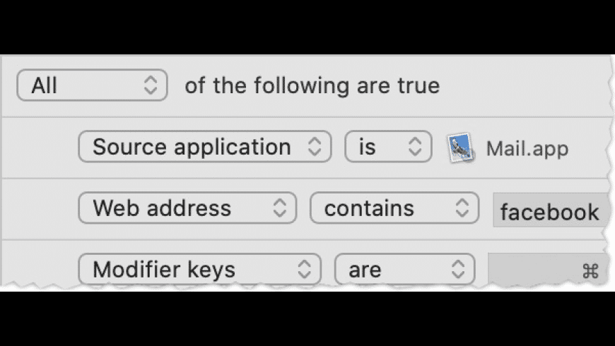 Choosy for Mac - review, screenshots
