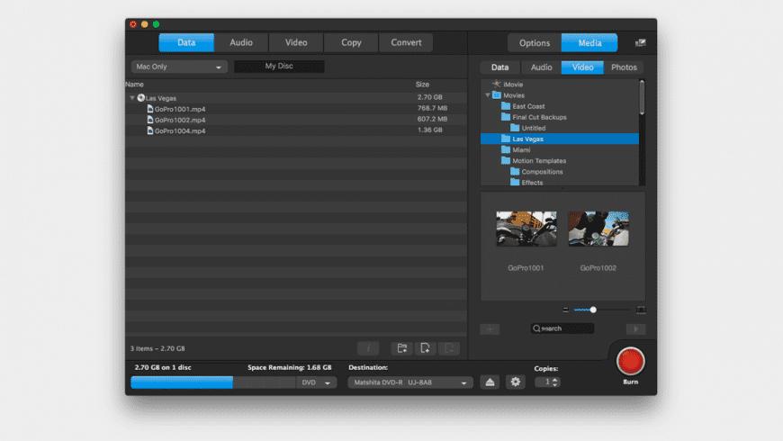 Toast Titanium for Mac - review, screenshots