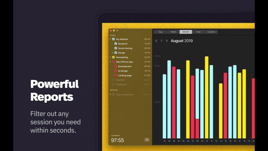 Klokki for Mac - review, screenshots