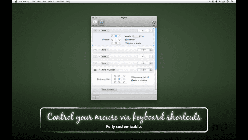 Keymo for Mac - review, screenshots