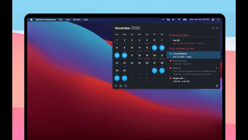 Calendar 366 II for Mac - review, screenshots