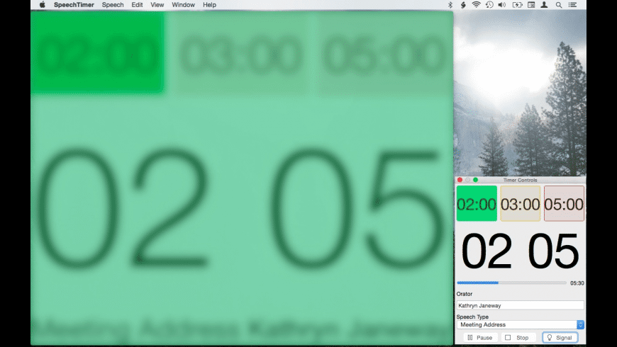 Speech Timer for Mac - review, screenshots