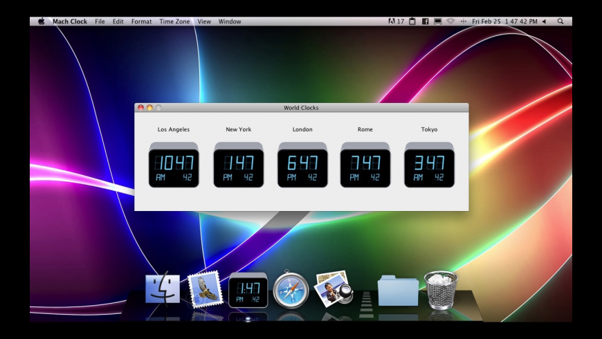 Mach Clock for Mac - review, screenshots
