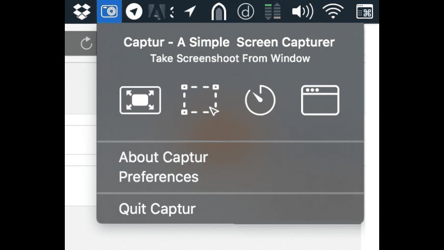 Captur for Mac - review, screenshots