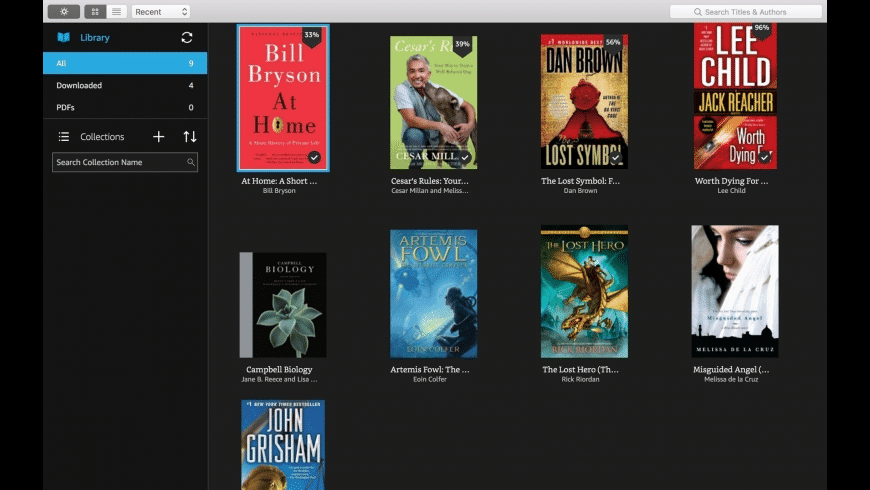 Kindle for Mac - review, screenshots