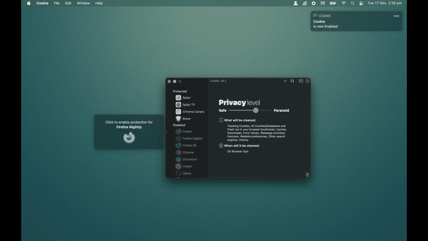 Cookie for Mac - review, screenshots