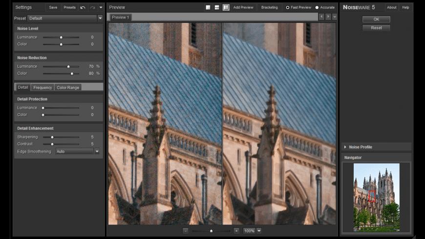 Noiseware for Mac - review, screenshots