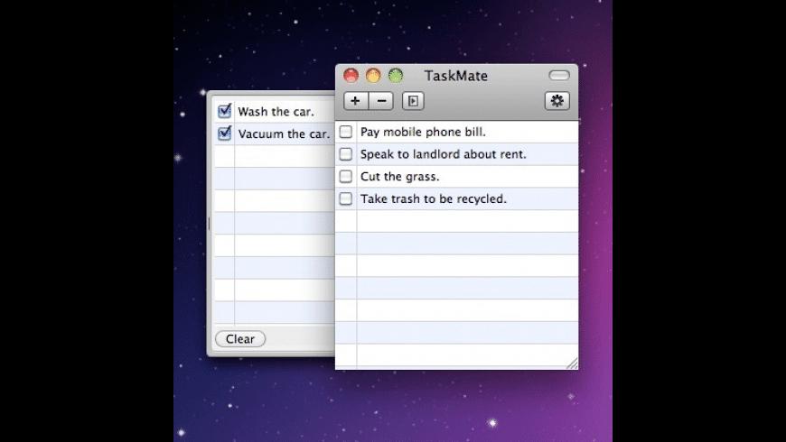 TaskMate for Mac - review, screenshots