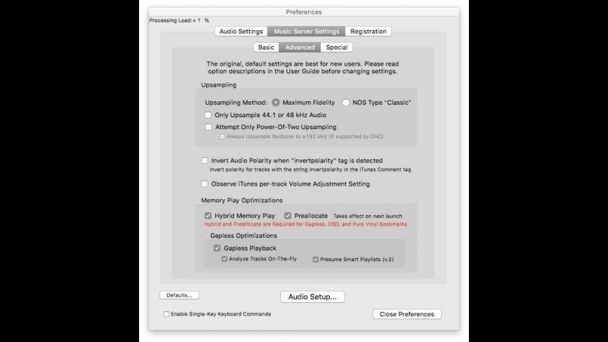 Pure Music for Mac - review, screenshots