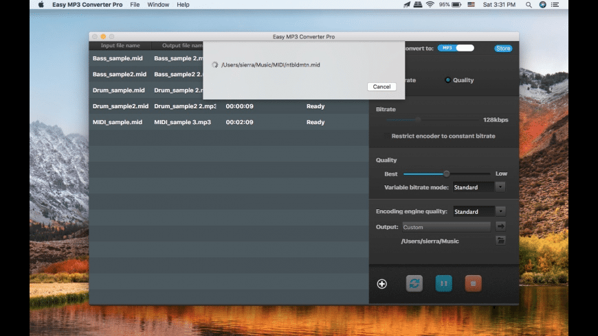 MP3 Converter Pro for Mac - review, screenshots