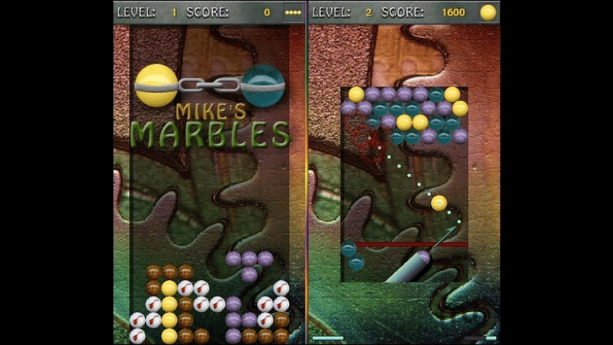 Mike's Marbles for Mac - review, screenshots
