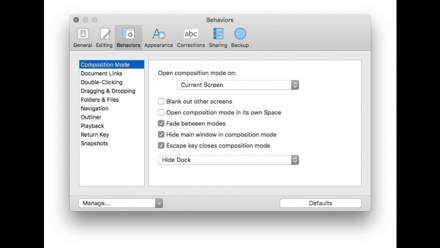 Scrivener for Mac - review, screenshots