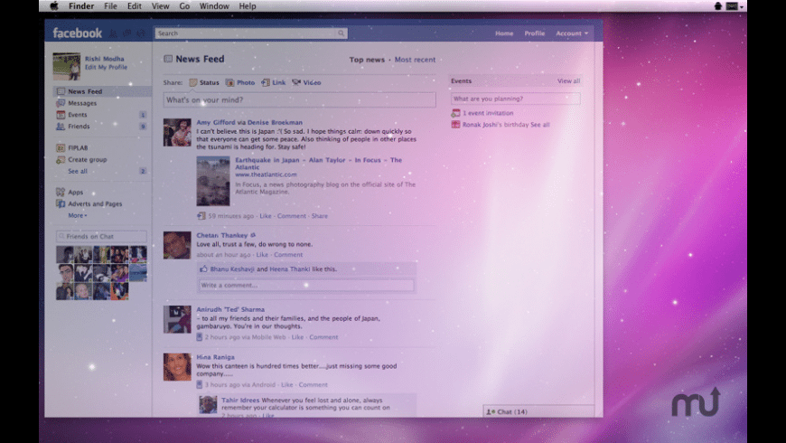 Ghost for Facebook for Mac - review, screenshots