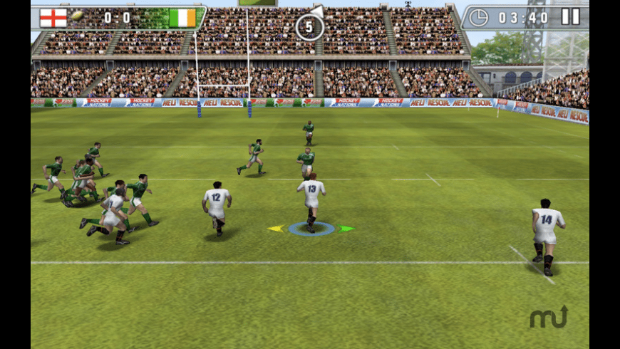 Rugby Nations 2010 for Mac - review, screenshots