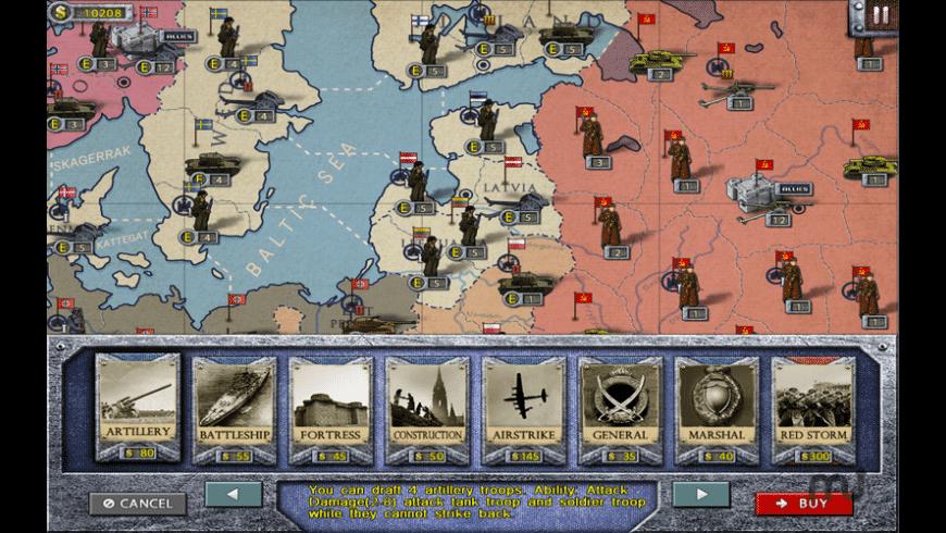 European War 2 for Mac - review, screenshots
