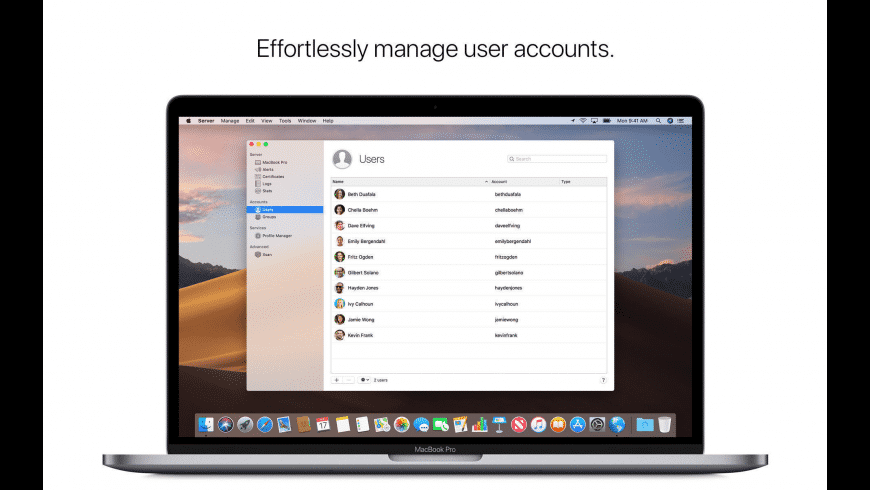 macOS Server for Mac - review, screenshots