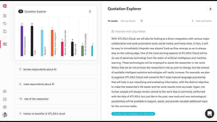 ATLAS.ti for Mac - review, screenshots