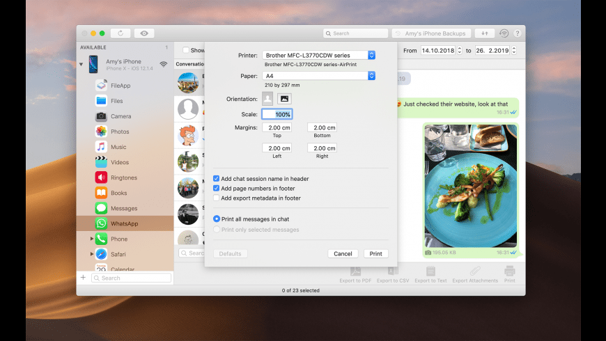 iMazing for Mac - review, screenshots