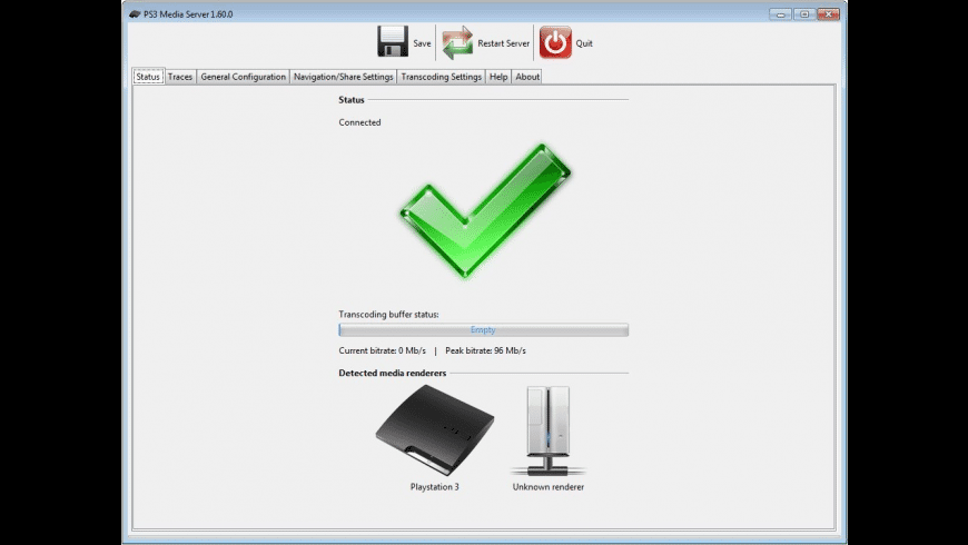 PS3 Media Server for Mac - review, screenshots