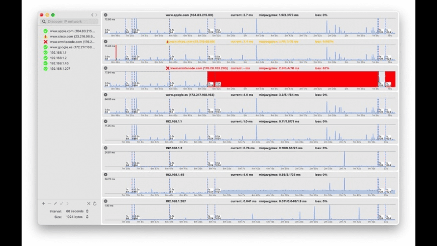 ICMPUtil for Mac - review, screenshots