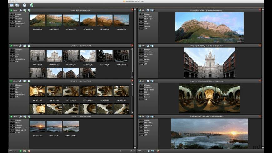 Autopano Giga for Mac - review, screenshots