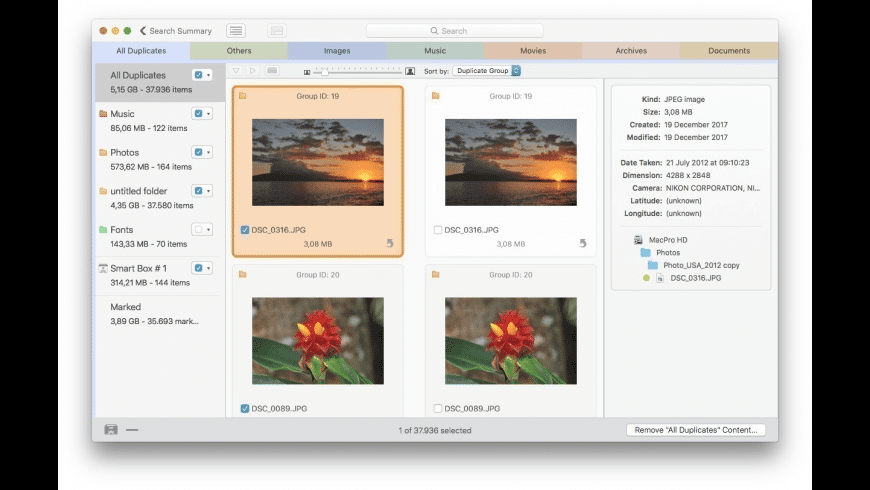 Tidy Up (Three Computers) for Mac - review, screenshots