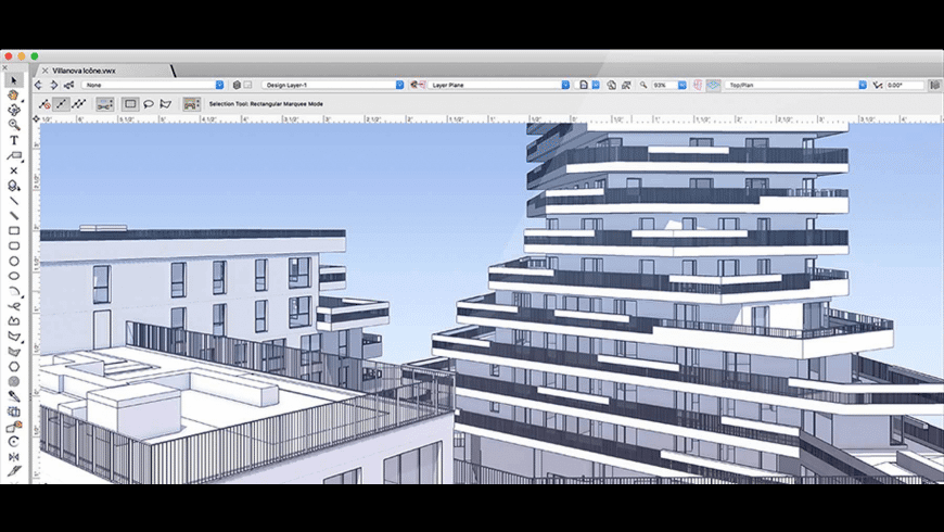 VectorWorks for Mac - review, screenshots