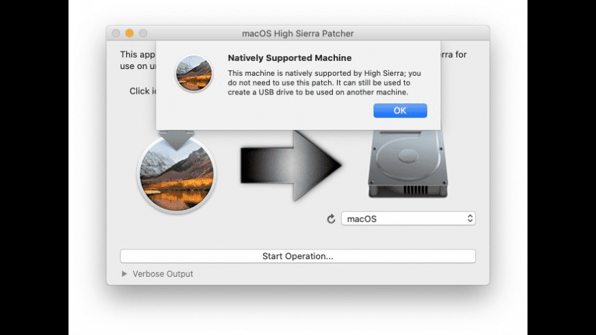 macOS High Sierra Patcher for Mac - review, screenshots