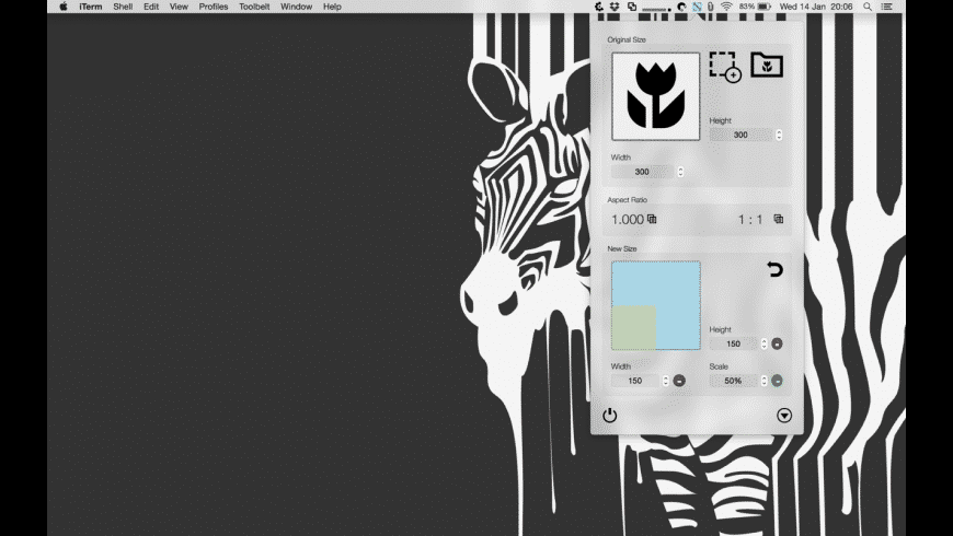 Aspect Ratio Calculator for Mac - review, screenshots