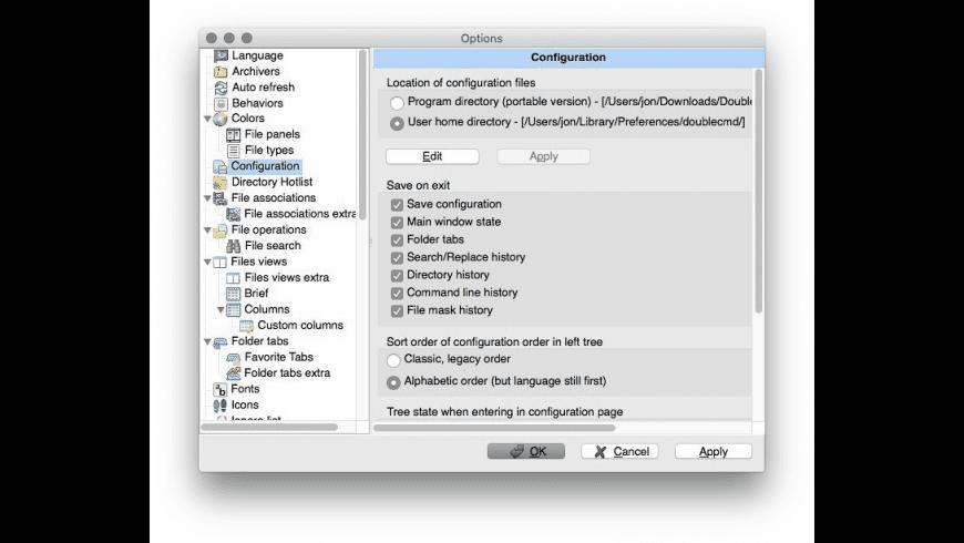 Double Commander for Mac - review, screenshots