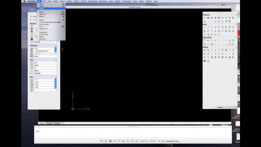 DraftSight for Mac - review, screenshots