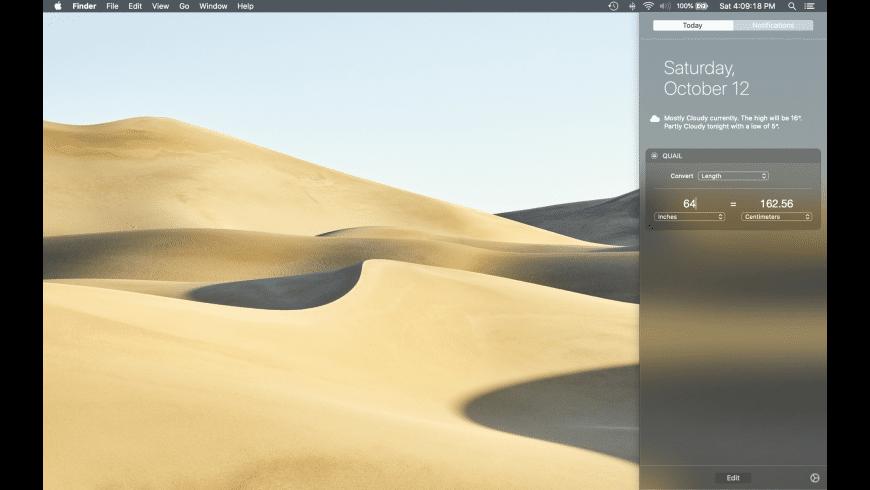 Quail for Mac - review, screenshots