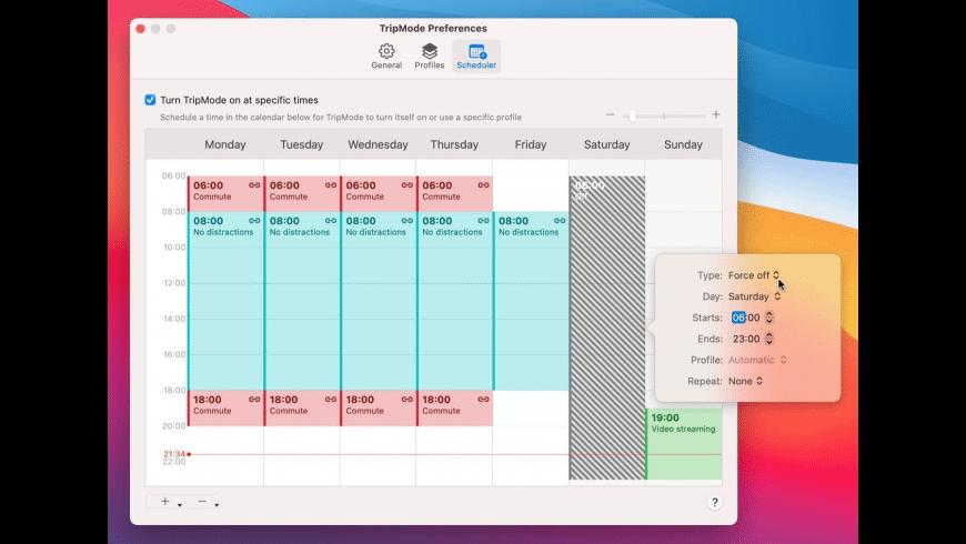 TripMode for Mac - review, screenshots