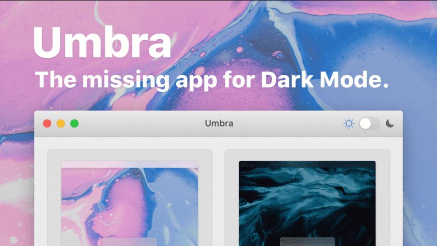 Umbra for Mac - review, screenshots