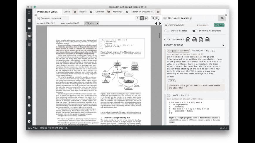 Zenreader for Mac - review, screenshots
