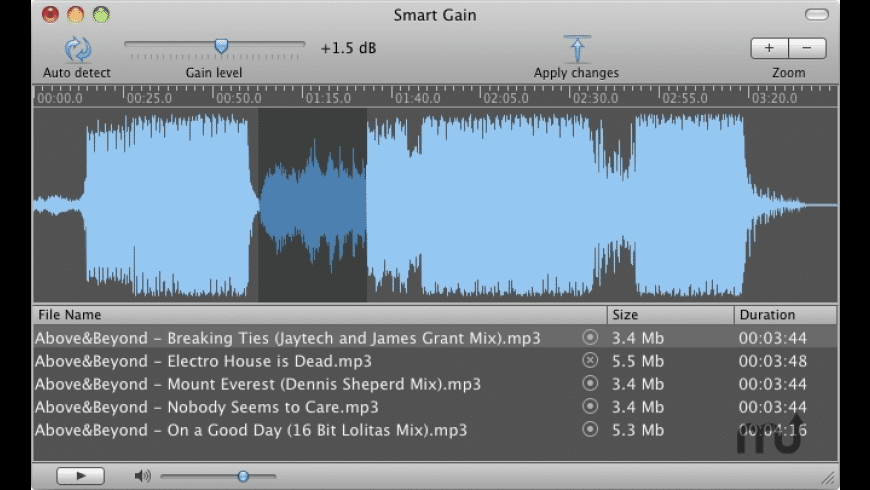 Smart Gain for Mac - review, screenshots
