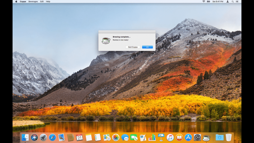 Cuppa for Mac - review, screenshots