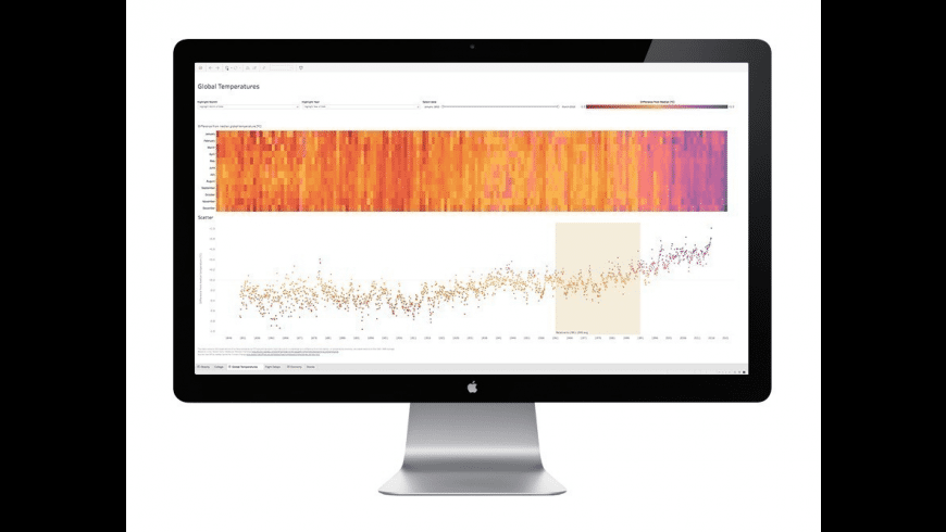 Tableau Reader for Mac - review, screenshots
